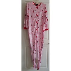RENE ROFE One-Piece Sleepwear LLama Print - Size L